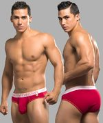 Almost Naked Tagless Brief, punainen