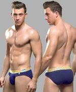 Almost Naked Tagless Brief, navy