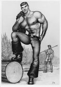 Tom of Finland -postikortti #07