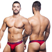 Almost Naked Tagless Premium Thong, punainen