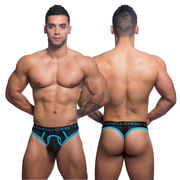 Air Mesh Thong w/ Almost Naked, musta