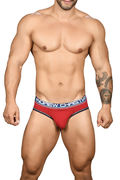 Almost Naked Cotton Brief, punainen