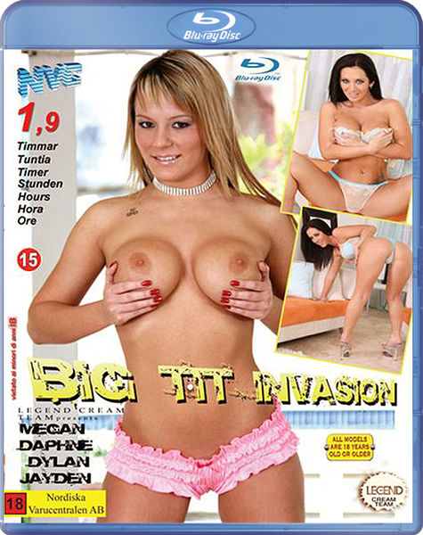 Big Tit Invasion (Blu-ray)